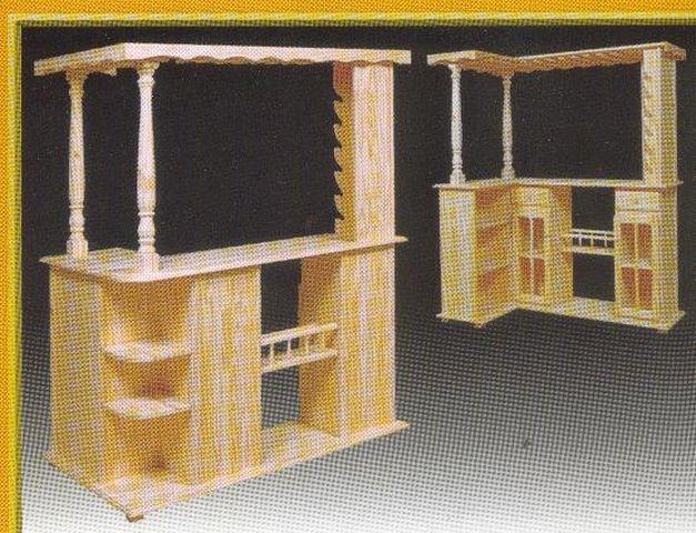 Muebles de estilo boedo fabricantes de muebles de estilo for Bar de madera estilo campo